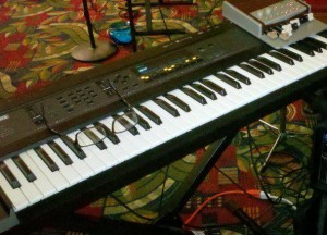 Ensoniq EPS-16 Plus with Hammond XMc-1